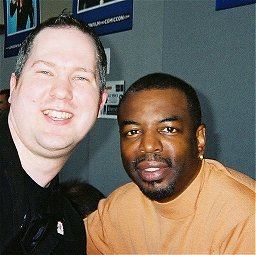 Ady and LeVar Burton at Collectormania 9 May Day 2006.