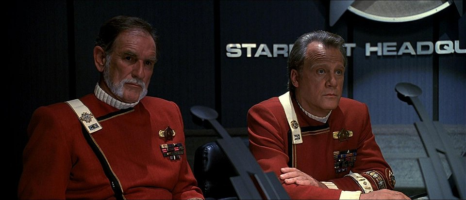 Commander-in-Chief, Starfleet at Starfleet Headquarters, stardate 9521.