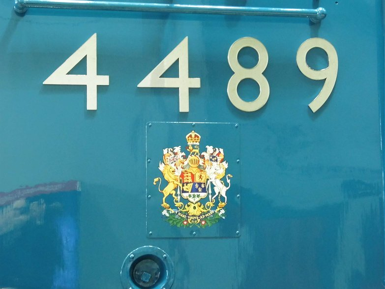 Cabside of Dominion of Canada with stainless steel numbers and DoC crest.