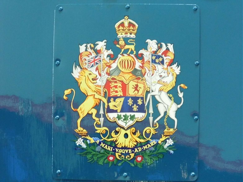 Crest of the Dominion of Canada.
