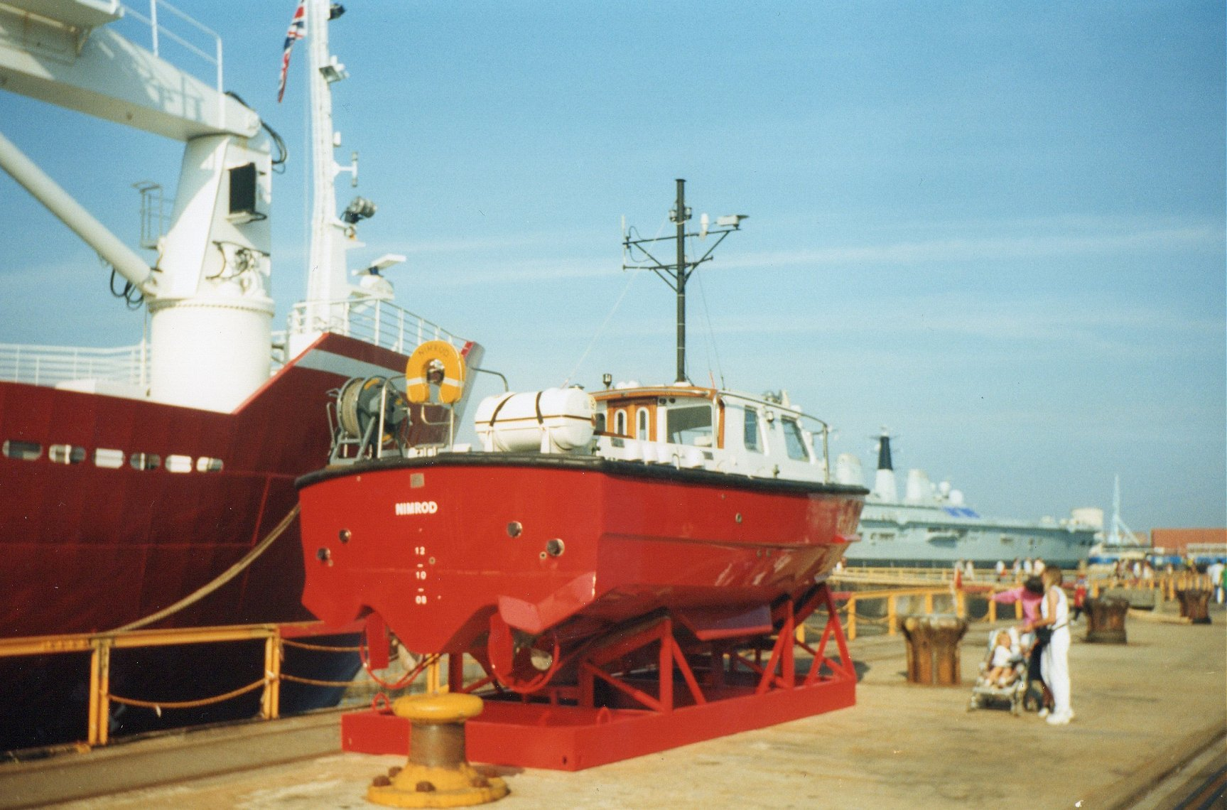 Survey vessel H.M.S. Endurance at Portsmouth Navy Days 1998