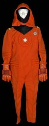 The orange damage control version of the engineering uniform.