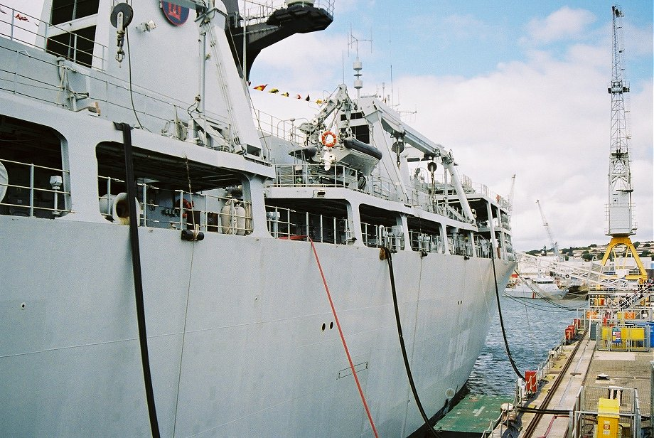 Assault ship L14 H.M.S. Albion at Plymouth Navy Days 2006.