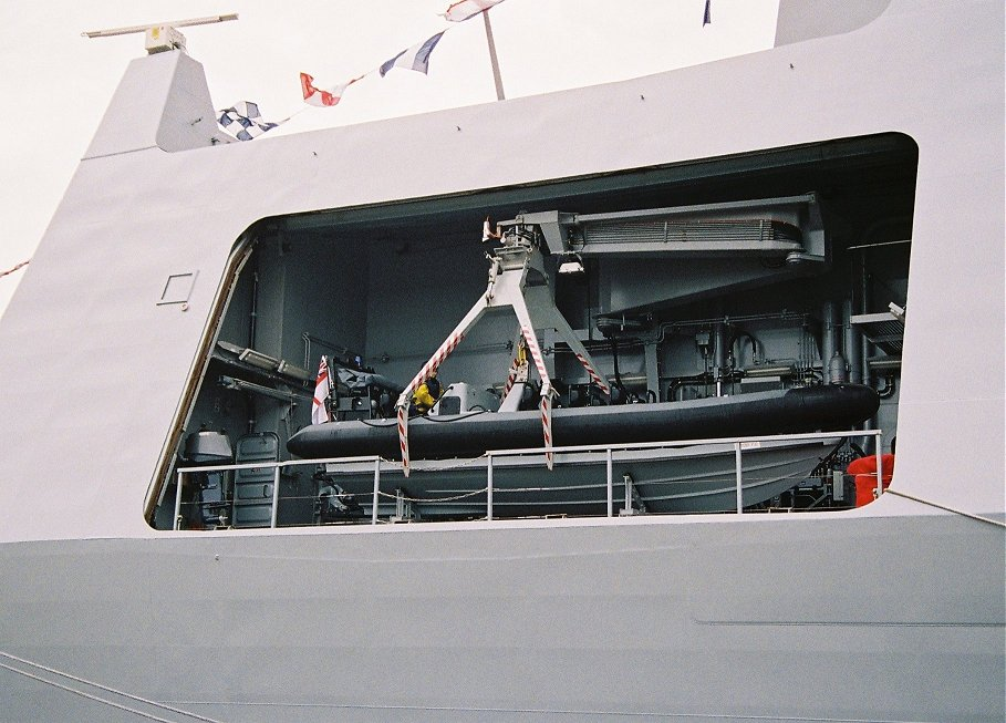Type 45 destroyer H.M.S. Daring at Devonport Navy Days 2009