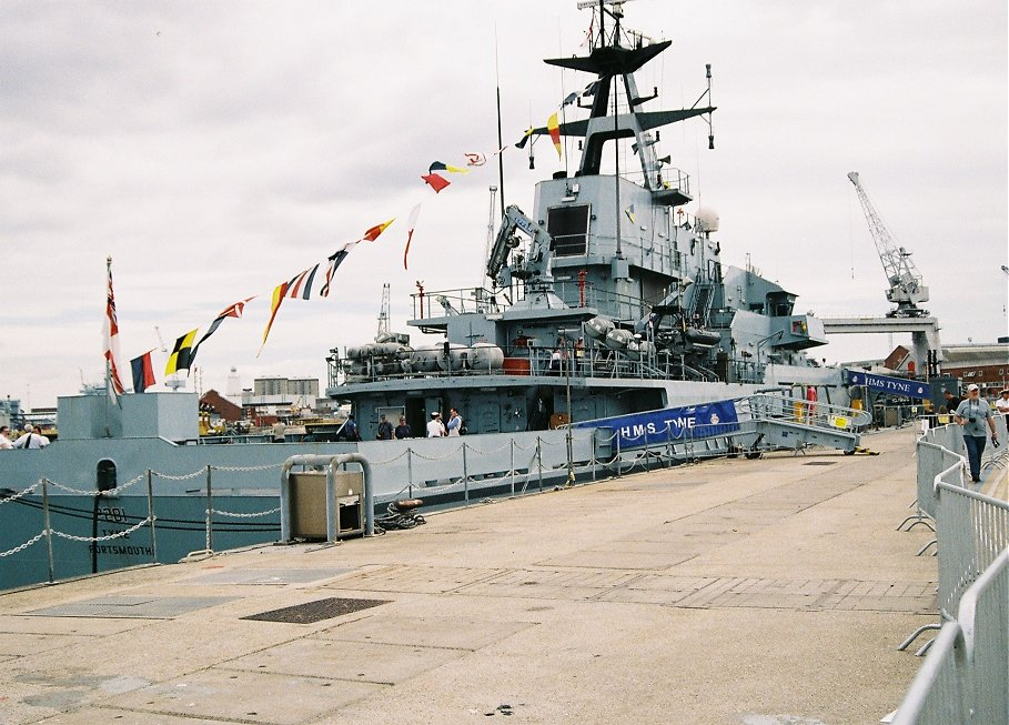 River class Offshore Patrol Vessel HMS Tyne P281, Portsmouth 2010.