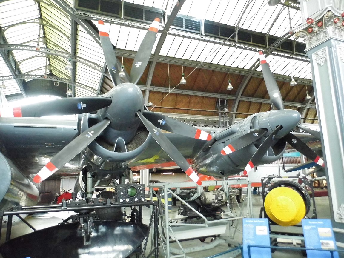 RAF Avro Shackleton, Museum of Science and Industry, Manchester, 8th October 2015.