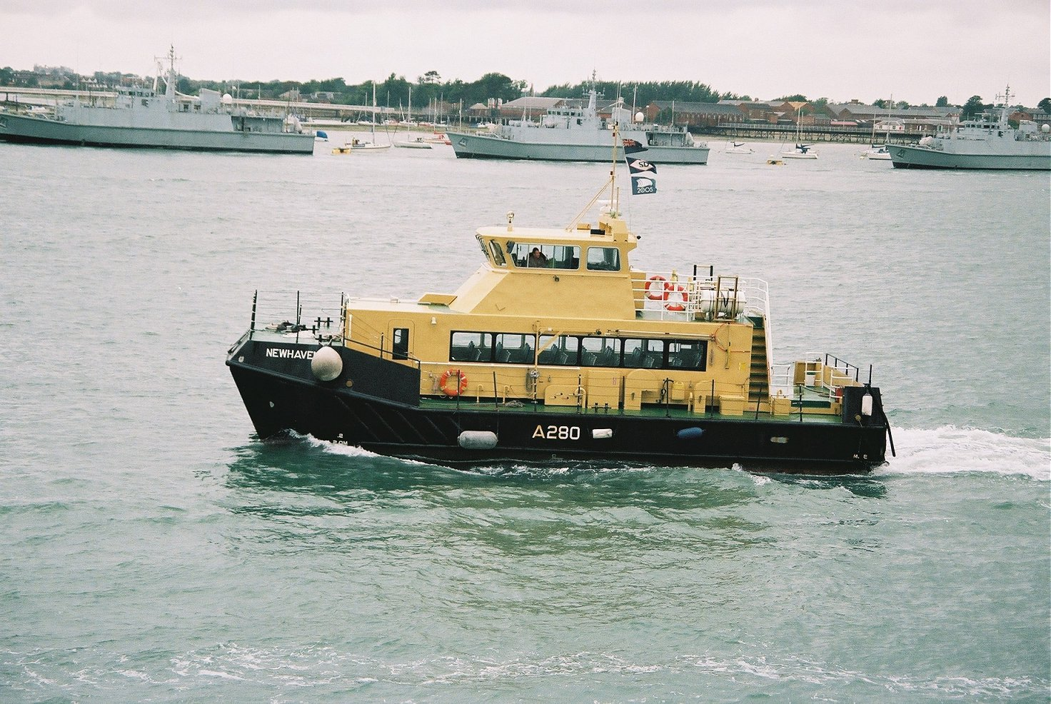 Newhaven, fleet tender, Portsmouth Navy Days 2005.
