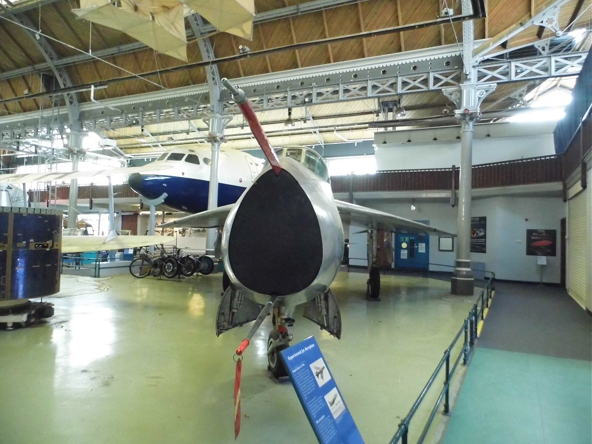 RAF English Electric P1a WG763, Museum of Science and Industry, Manchester, 8th October 2015