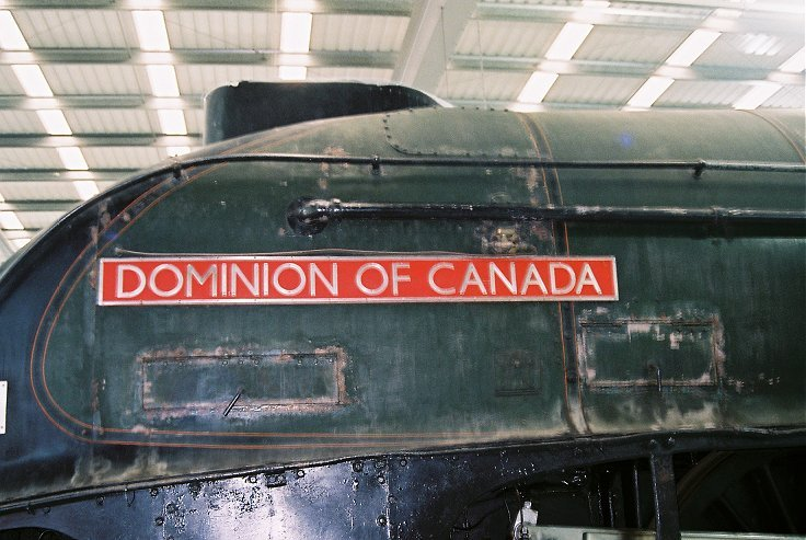 60010 Dominion of Canada nameplate. Thursday 25/10/2012.