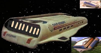 Executive Federation Shuttlecraft as seen in Star Trek VI. Note the 5-digit NAR registry number.