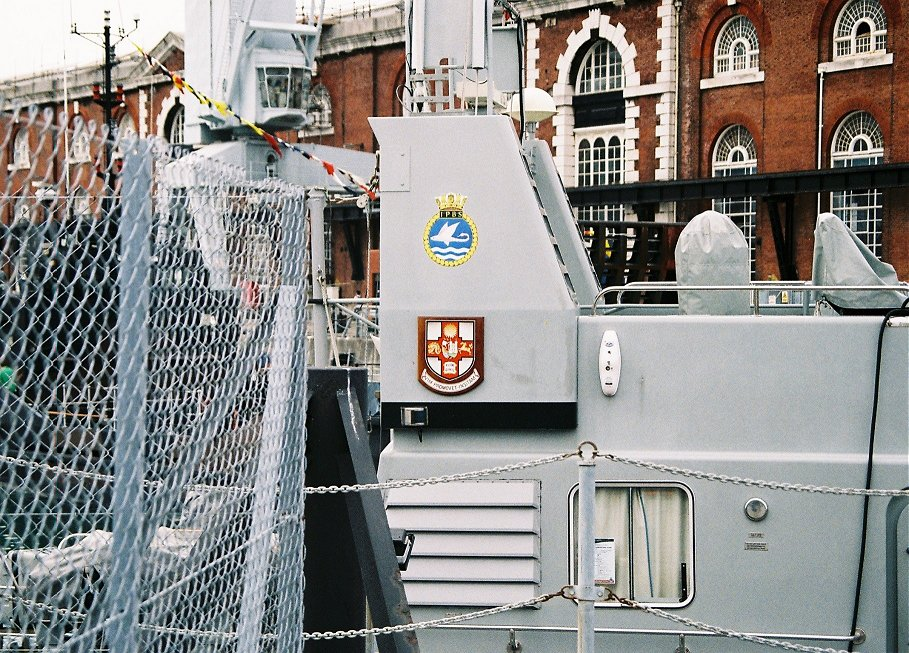 Archer class Coastal Training Patrol craft P294 HMS Trumpeter, Portsmouth Navydays, 2010.