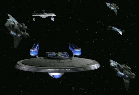 Third USS Hood, NCC 42296 as seen in ST TNG.
